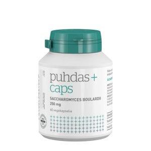 Puhdas+ Saccharomyces Boulardii 250 Mg 60 Kaps