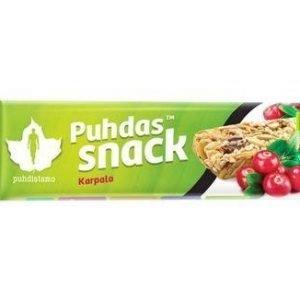 Puhdas Snack Luomu Patukka Karpalo