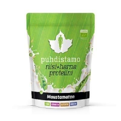 Puhdistamo Luomu Riisi + Herne Proteiini