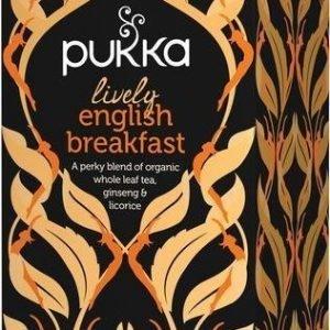 Pukka Luomu Lively English Breakfast Tee