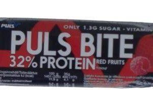 Puls Bite Proteiinipatukka Punaiset Marjat