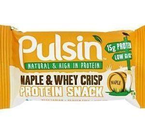 Pulsin Maple & Whey Crisp Proteiinipatukka