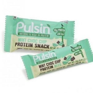Pulsin Mint Choc Chip Protein Snack