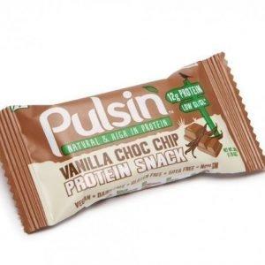Pulsin Vanilla Choc Chip Protein Snack