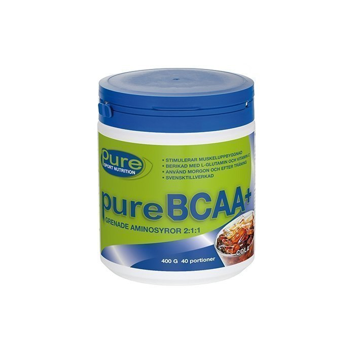 Pure Sport Nutrition Pure BCAA 400 g Cola