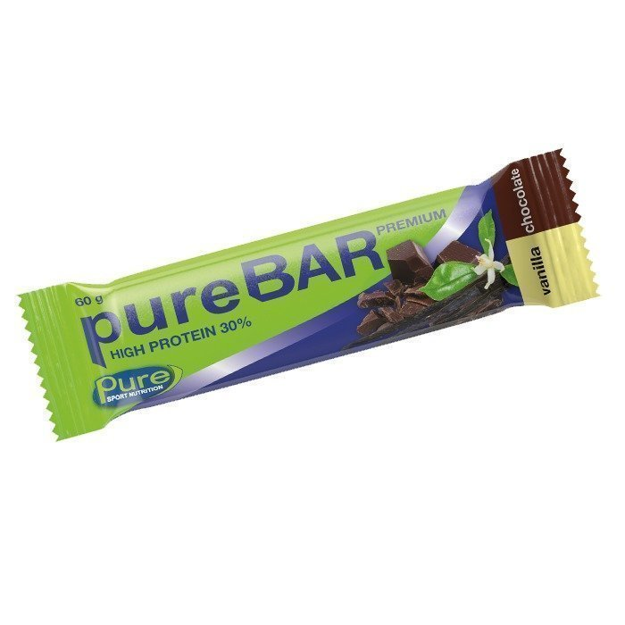 Pure Sport Nutrition Pure Bar Premium 60 g Vanilla Chocolate
