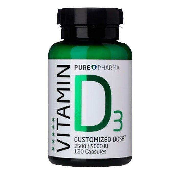 PurePharma D3 120 kapselia