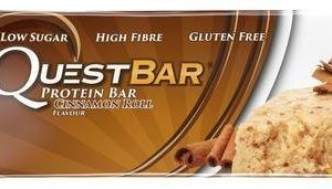 Quest Bar Proteiinipatukka Cinnamon Roll