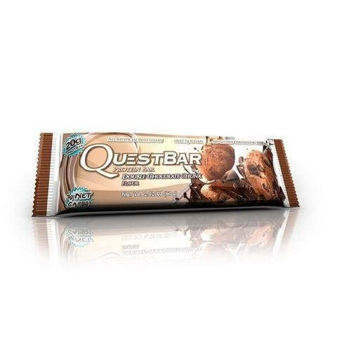 Quest Bar Proteiinipatukka Double Chunk Chocolate