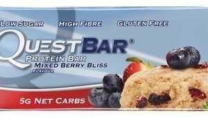 Quest Bar Proteiinipatukka Mixed Berry Bliss