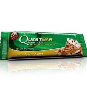 Quest Bar Proteiinipatukka Peanut Butter Supreme
