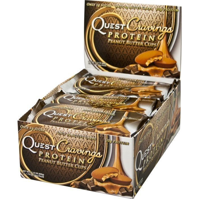 Quest Nutrition 12 x Quest Cravings 60 g Peanut Butter Cup