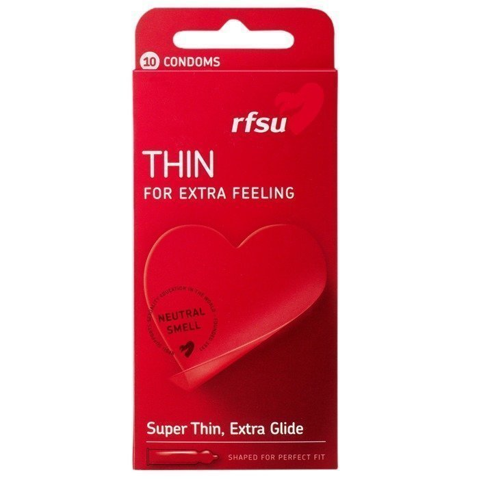RFSU Thin Kondom 10 kpl