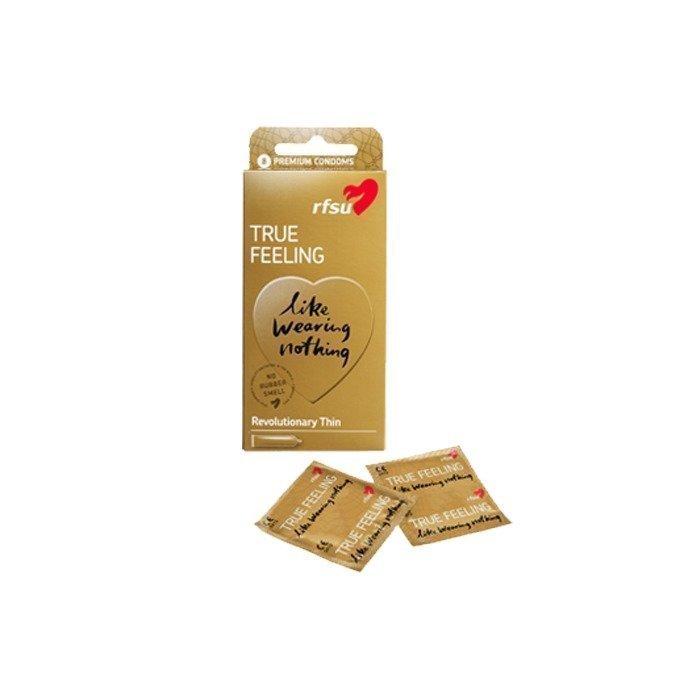 RFSU True Feeling kondomi 8 kpl