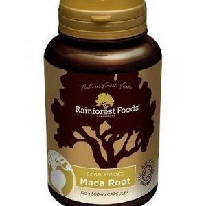 Rainforest Foods Rainforest Foods Maca kapselit