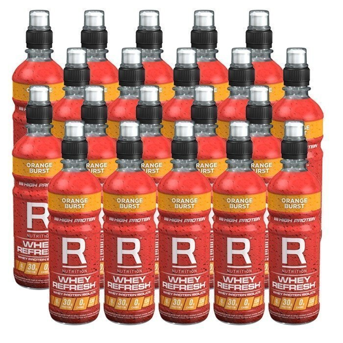 Reflex 20 x Whey refresh 500 ml