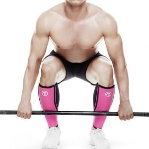 Rehband Rx Shin Sleeve Black/Pink 5mm