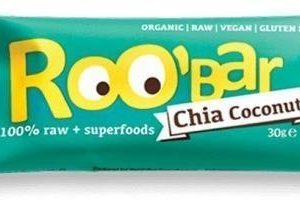 Roobar Luomu Chia-Kookospatukka