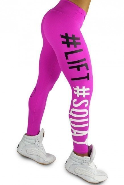 Ryderwear Lift Squat Legginssit pinkki