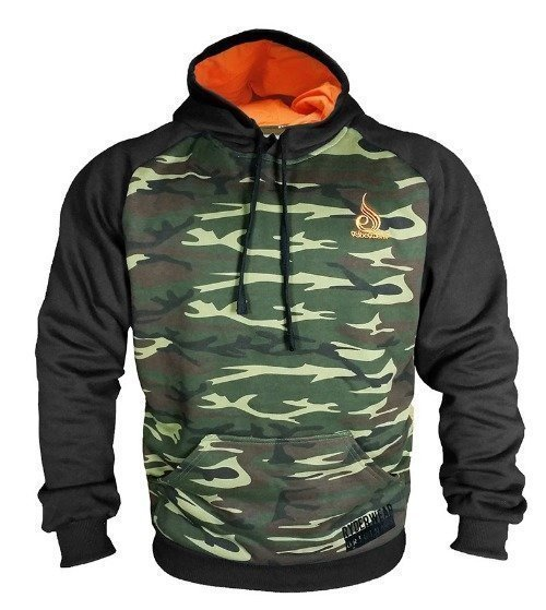 Ryderwear Pull Over Hoodie camo