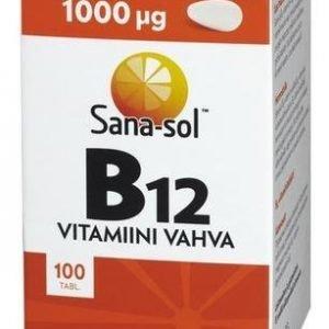Sana-Sol B12-Vitamiini 1000 Mikrog