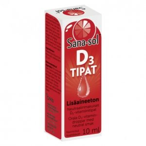 Sana-Sol D3-Vitamiinitipat 10ml