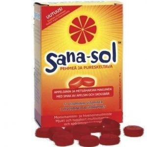 Sana-Sol Pehmeä Ja Pureskeltava Monivitamiini