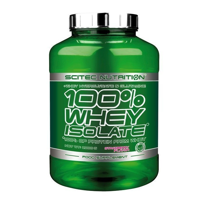 Scitec 100 % Whey Isolate 2000 g Raspberry