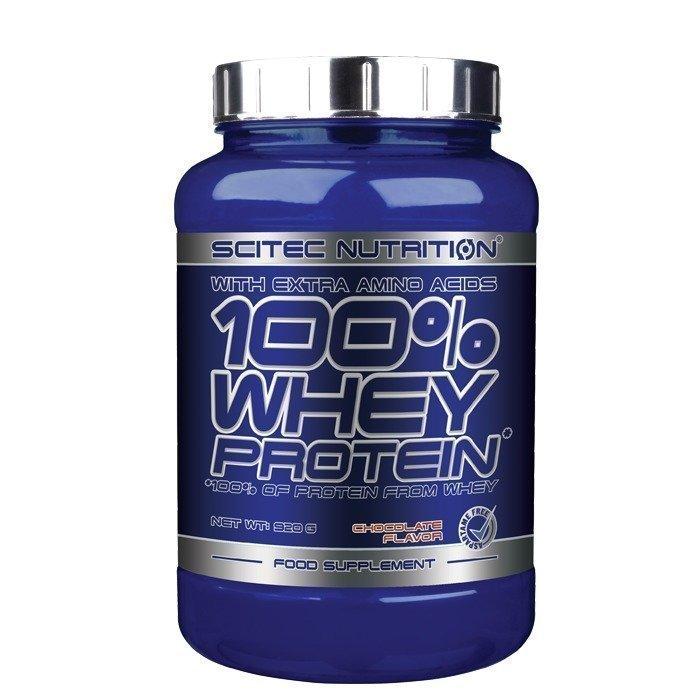 Scitec 100% Whey Protein 2350 g Mansikka