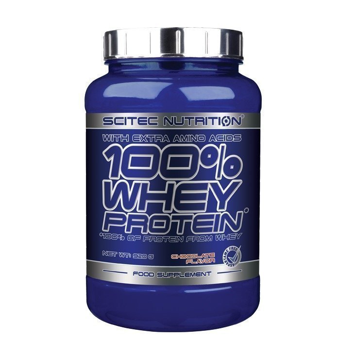 Scitec 100% Whey Protein 920 g Strawberry