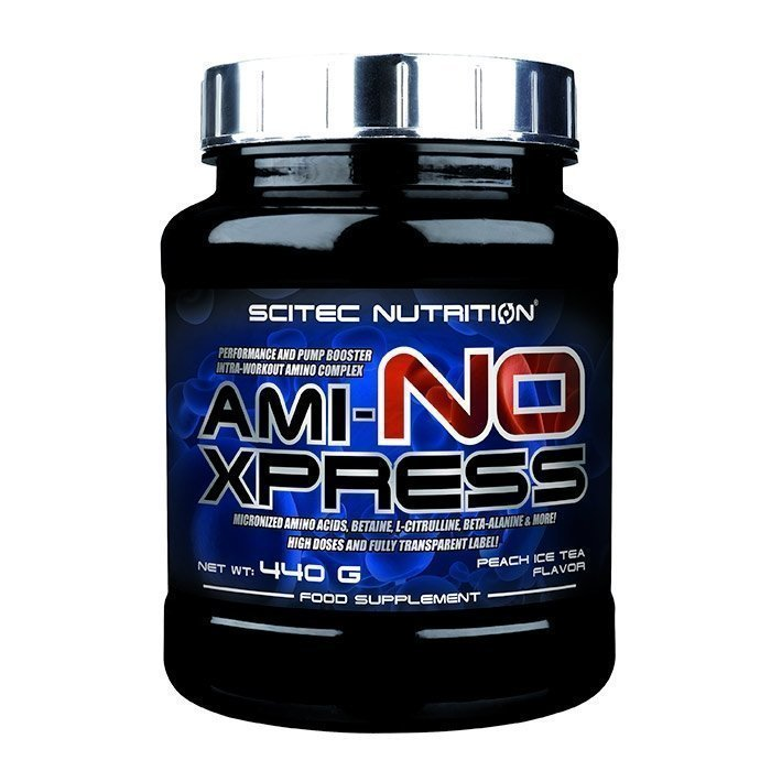 Scitec Ami-NO Xpress 440 g Peach Ice Tea