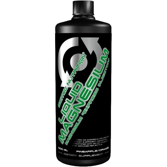Scitec Liquid magnesium 1000 ml Orange/Pineapple