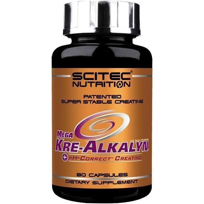 Scitec Mega Kre-Alkalyn 1200 mg 80 caps