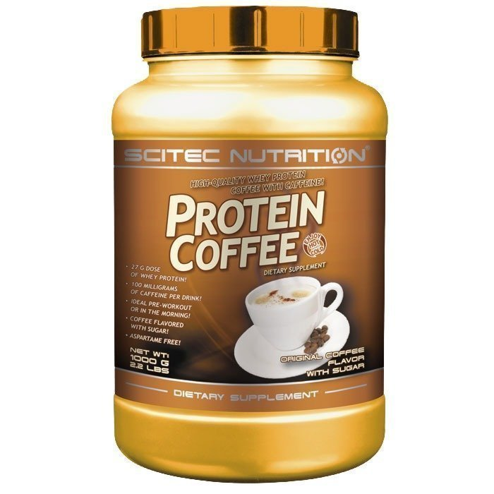 Scitec Protein Coffee 600 g with sugar