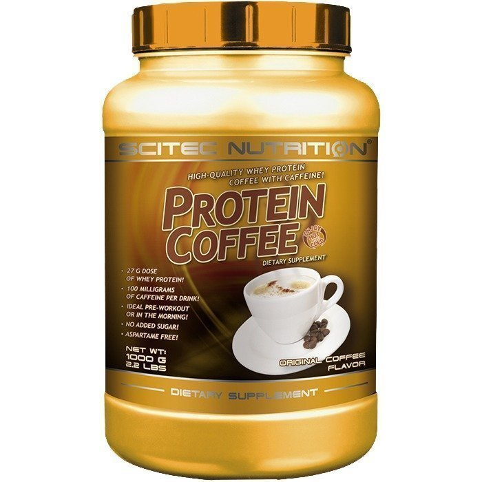 Scitec Protein Coffee sugar free