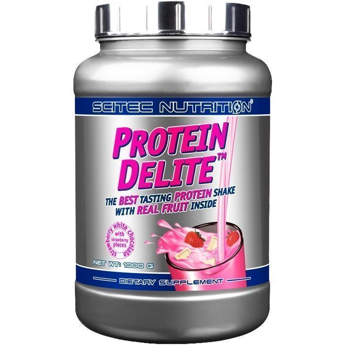 Scitec Protein Delite 1000 g Strawberry White-Chocolate