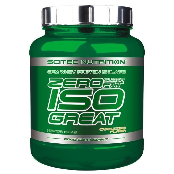 Scitec Zero Carb Isogreat 900 g Strawberry