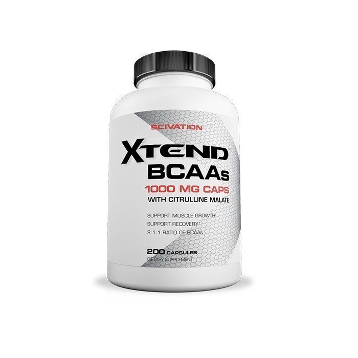 Scivation Xtend BCAA caps 200 caps