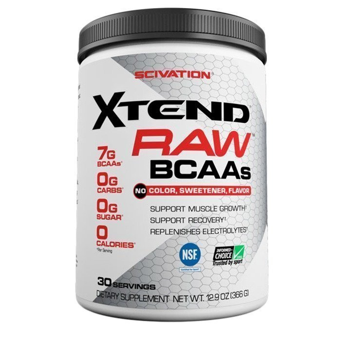 Scivation Xtend RAW 30 servings
