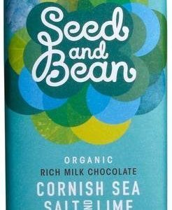 Seed And Bean Luomu Cornishin Merisuola-Lime Suklaa