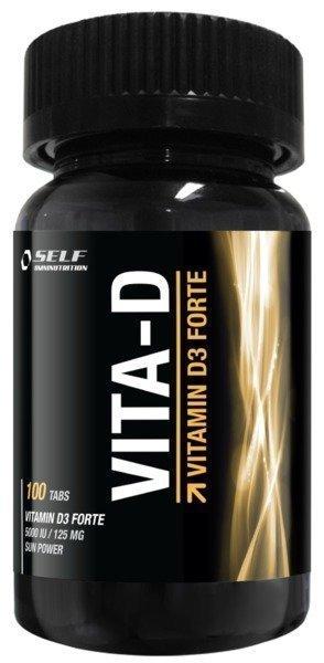 Self D-Vitamiini 125mcg/100tab.