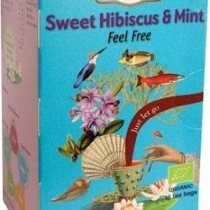 Shoti Maa Luomu Sweet Hibiscus & Mint Tee