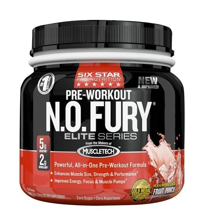 Sixstar N.O. Fury 544 g Fruit Punch