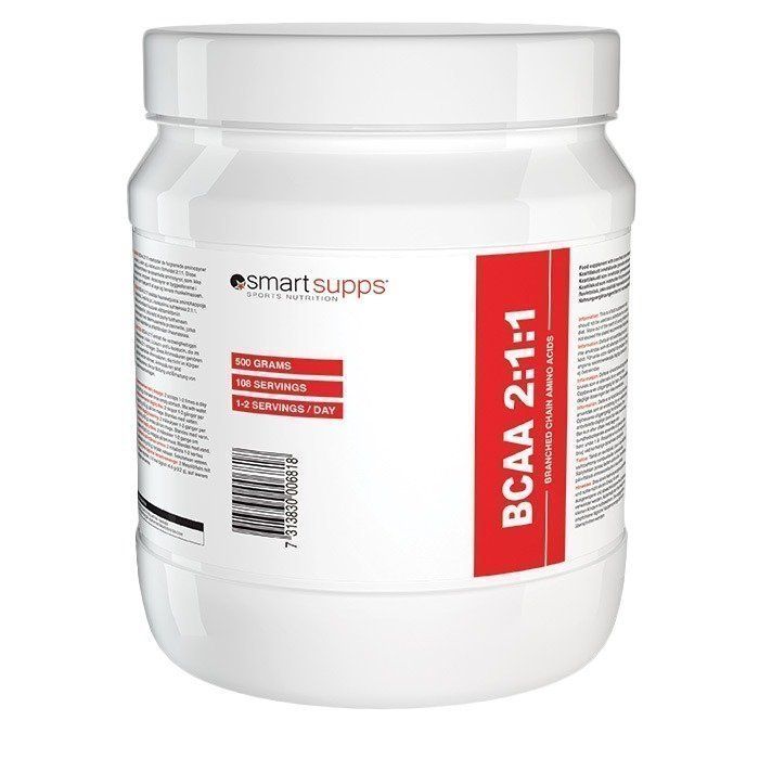 SmartSupps BCAA 2:1:1 500 g Orange