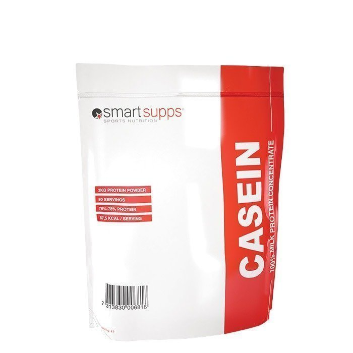 SmartSupps CASEIN 2 kg Strawberry