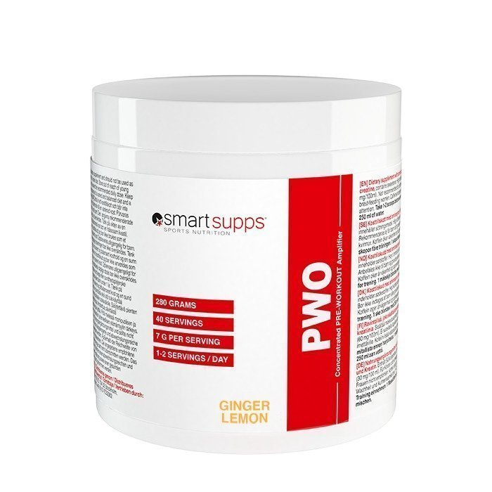 SmartSupps PWO 280 g Raspberry Lime