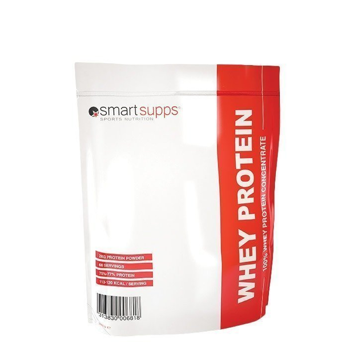 SmartSupps WHEY PROTEIN 2 kg Strawberry