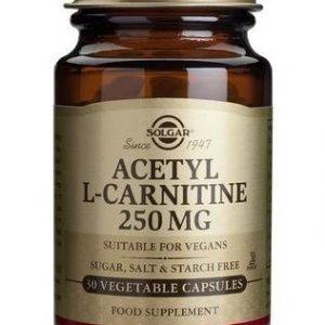 Solgar Asetyyli L-Karnitiini