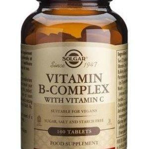 Solgar B-Complex + C-Vitamiini