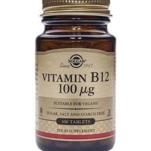 Solgar B12-Vitamiini 100 Mikrog